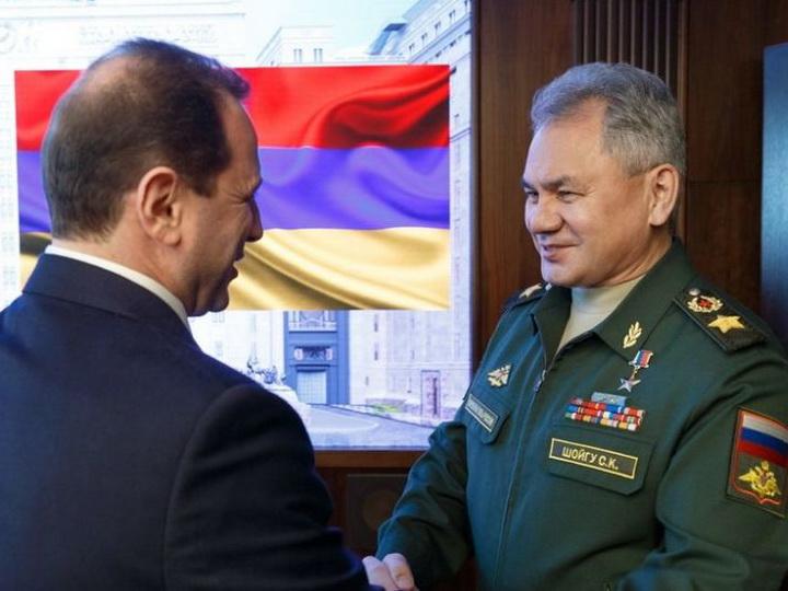 Тоноян и Шойгу договорились о реализации ряда военно-технических программ