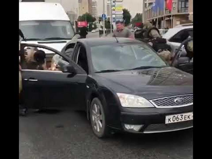 В Краснодаре спецназ задержал банду Хачатряна и Давтяна - ВИДЕО
