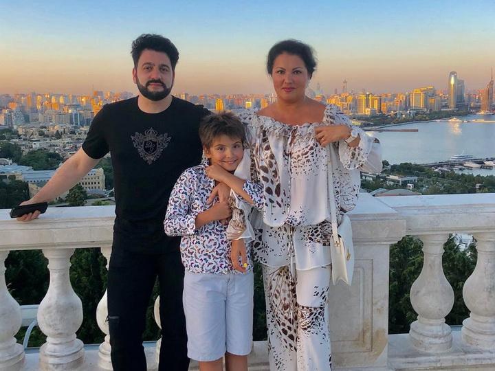 Анна Нетребко: Азербайджан, спасибо за гостеприимство, красоту и счастье - ФОТО