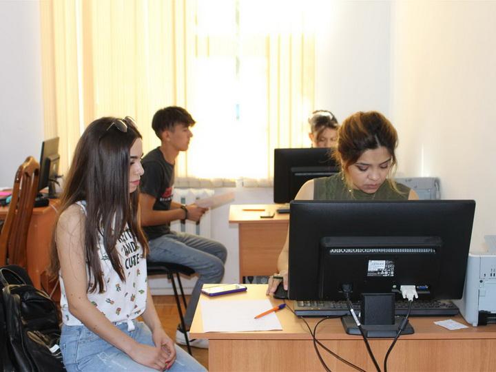 В АГУНП началась регистрация студентов