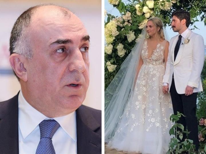 Сын Эльмара Мамедъярова женился в Нью-Йорке - ФОТО