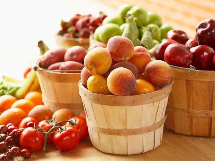 Богатство садов и огородов Азербайджана