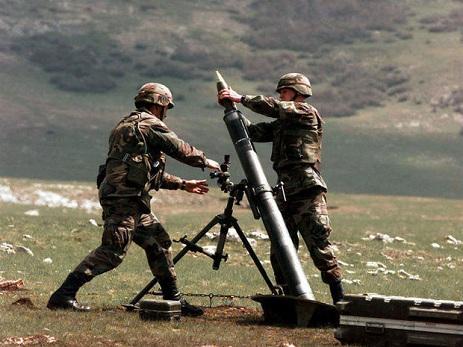 Ermənistan tərəfi iriçaplı pulemyotlarla atəşkəsi 22 dəfə pozub