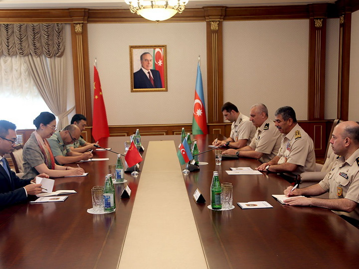 Азербайджан и Китай обсудили военно-техническое сотрудничество - ФОТО