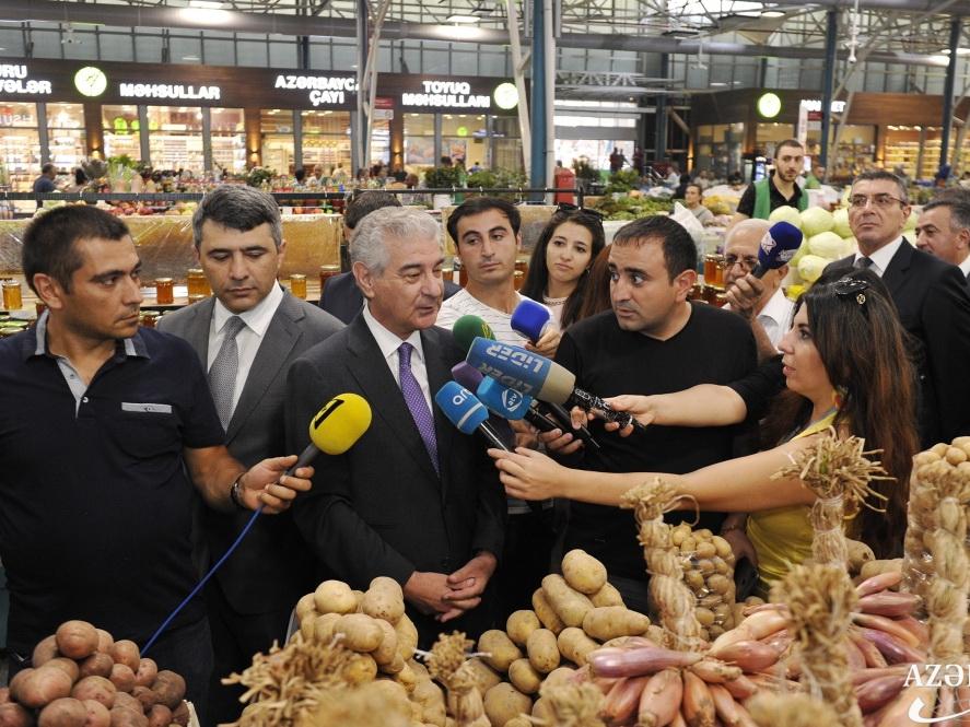 Али Ахмедов о продовольственной безопасности населения - ФОТО
