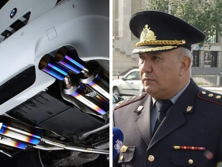 Вагиф Асадов предупредил водителей, ставящих на машины «гоночные» глушители