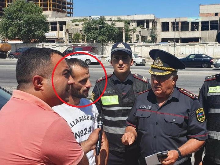 В Баку «автош» менял букву на номере, чтобы штрафы шли невинным водителям - ФОТО - ВИДЕО