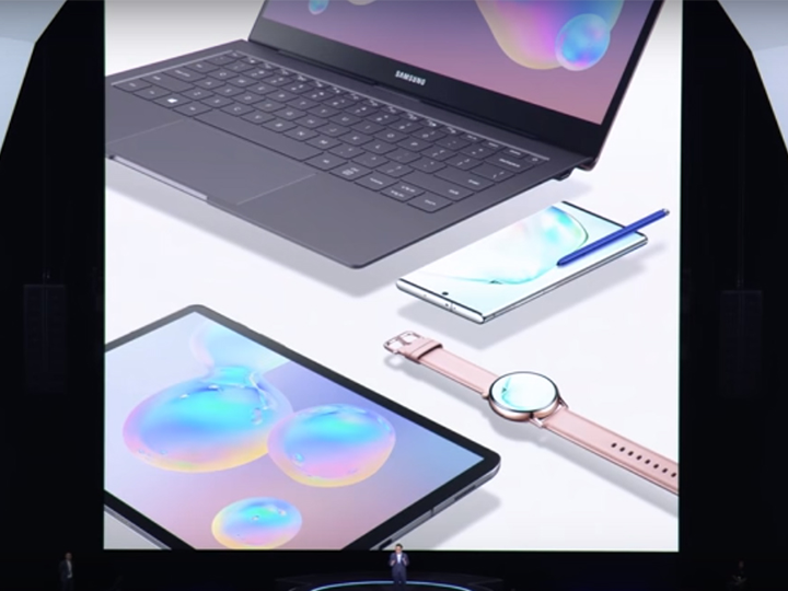 Samsung представил сразу несколько продуктов на церемонии Unpack 2019