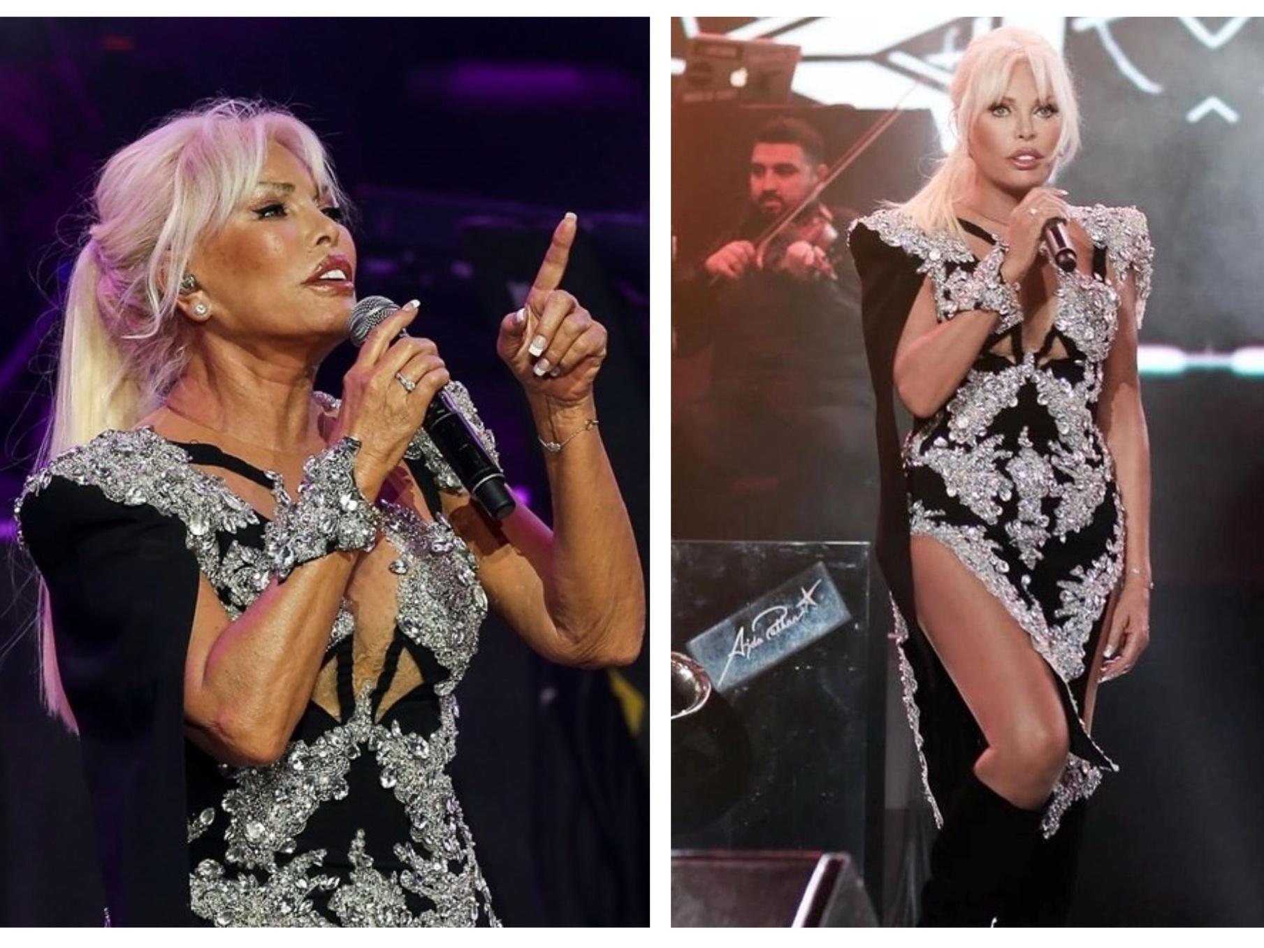 Как 73-летняя Ажда Пеккан выглядит без фотошопа: «до» и «после» - ФОТО