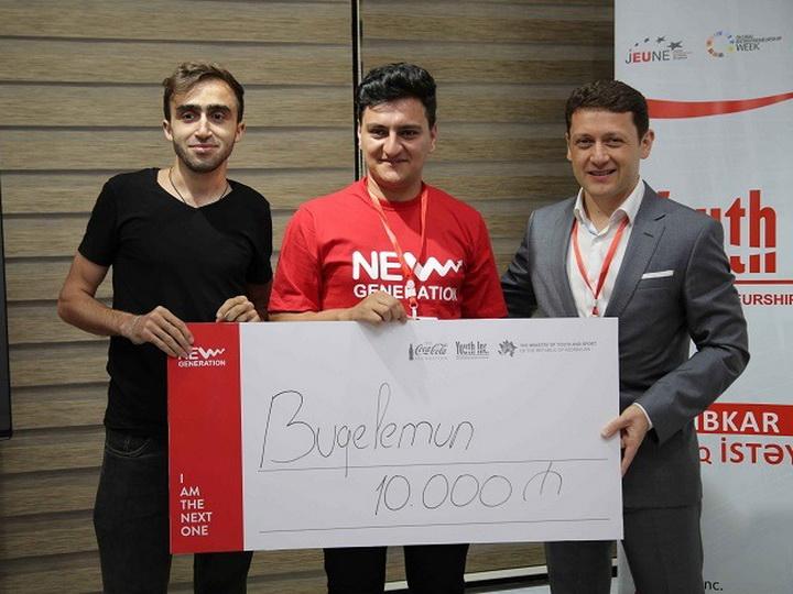 New Generation: азербайджанская молодежь рассказывает о стартапах, получивших гранты от Youth Inc. – ФОТО