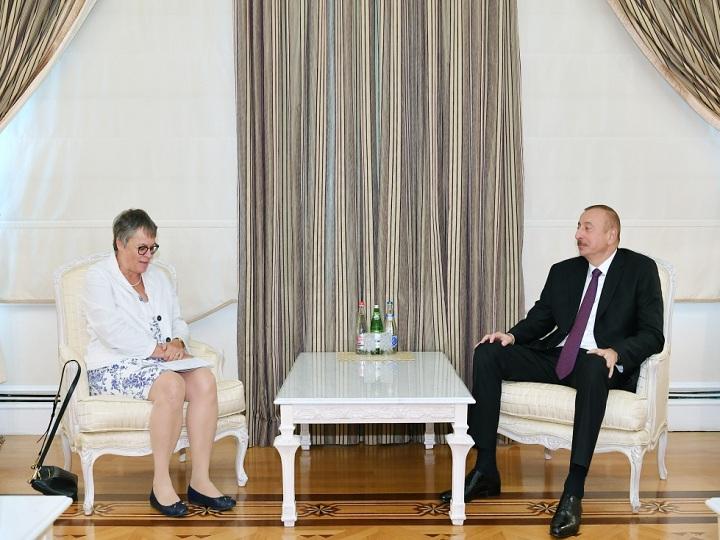 İlham Əliyev AŞPA prezidentini qəbul edib – FOTO – YENİLƏNİB