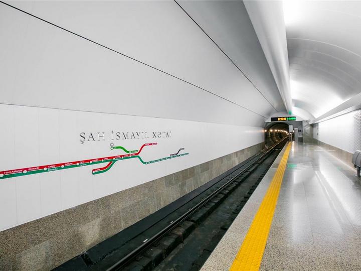 Открыта станция метро «Хатаи» - ВИДЕО