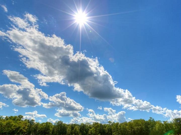 В субботу на Абшероне теплая погода