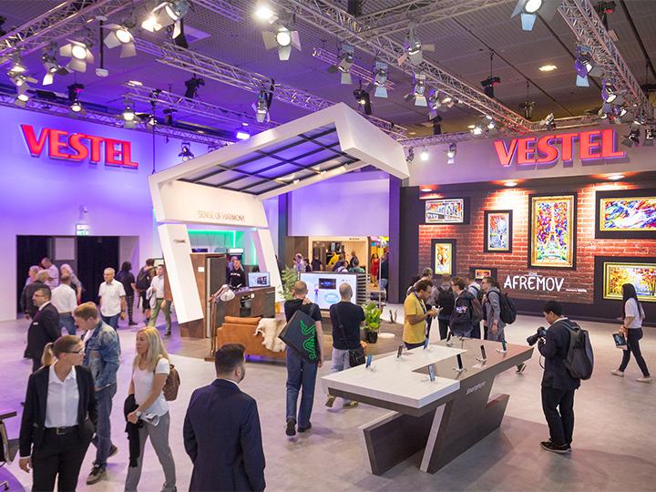 Vestel со своими новинками произвела фурор в Европе! - ФОТО