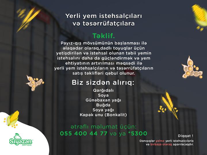 Yerli fermerlərə və təsərrüfatçılara şad xəbər – FOTO