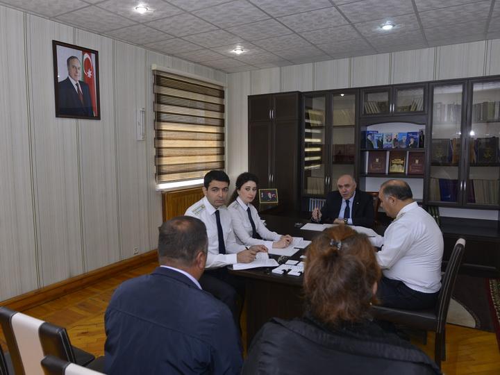 Закир Гаралов принял граждан в Габале