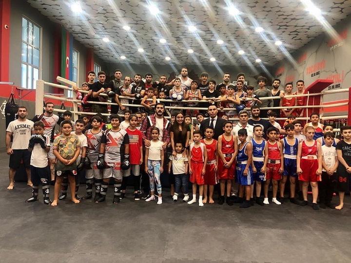 Лейла Алиева посетила спортивный клуб «Забит Самедов» - ФОТО - ВИДЕО