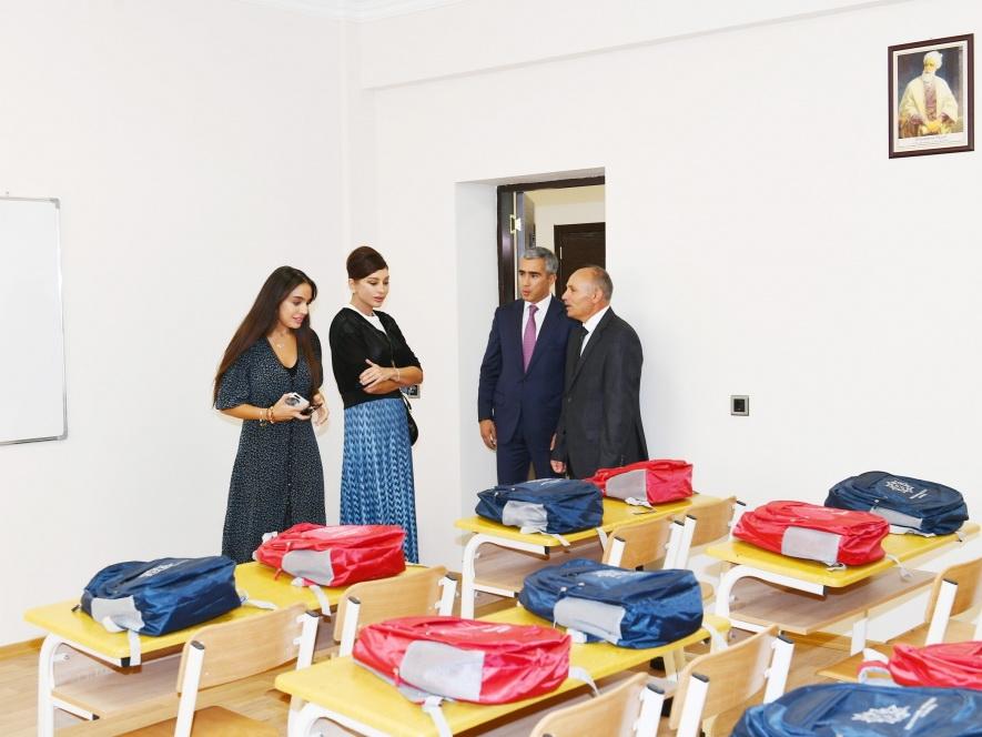 В Шамахе состоялось открытие Меликчобанлинской сельской полной средней школы - ФОТО