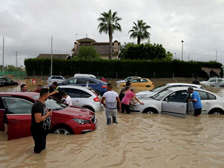В Испании пять человек стали жертвами наводнений