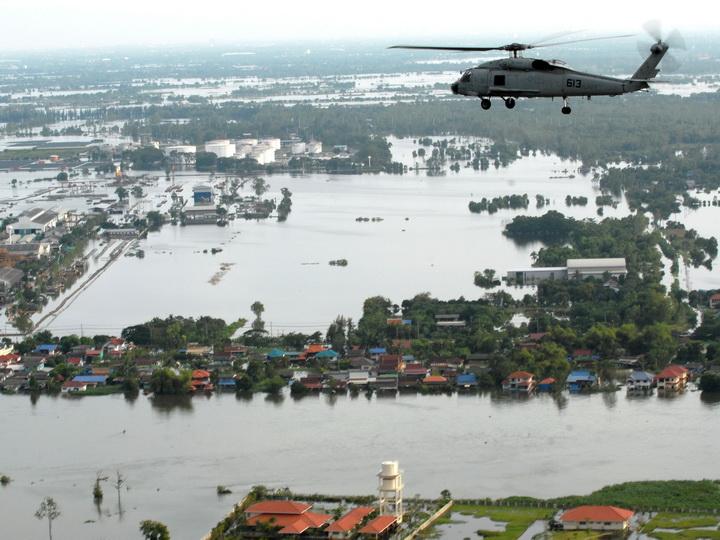 СМИ: в Таиланде из-за наводнений умерли 32 человека