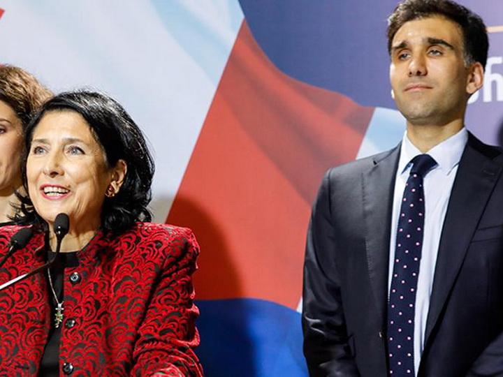 Сын президента Грузии стал сотрудником администрации президента Франции