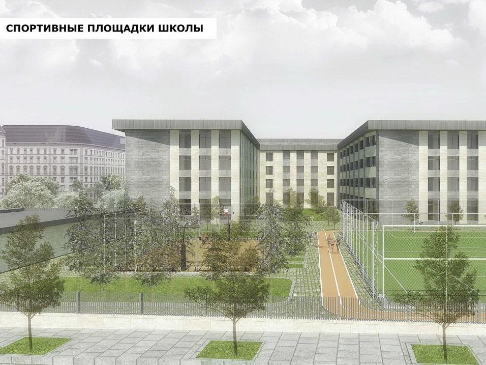 Новая школа в Baku White City - ФОТО