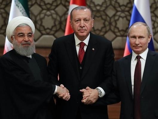 Лидеры России, Турции и Ирана решают судьбу Сирии: Войне конец? – ВИДЕО