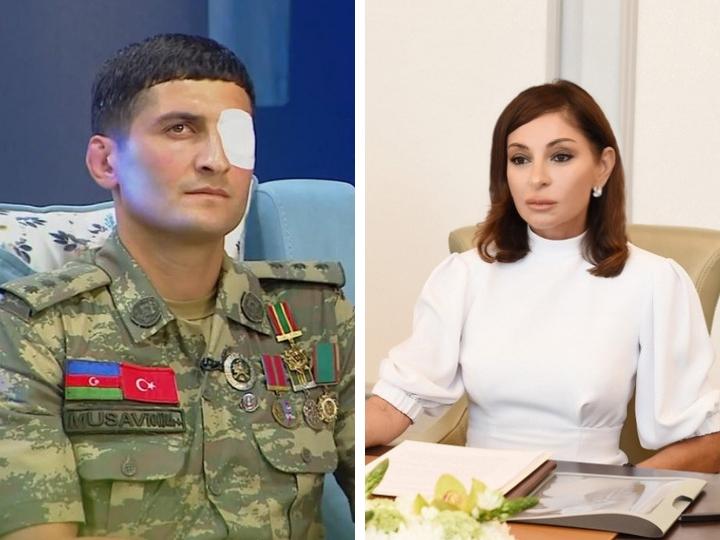Первый вице-президент Мехрибан Алиева оплатит операцию ветерану апрельских боев