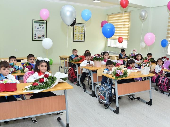 В Гяндже сданы в эксплуатацию построенные и отремонтированные Фондом Гейдара Алиева новые школы и детский сад - ФОТО