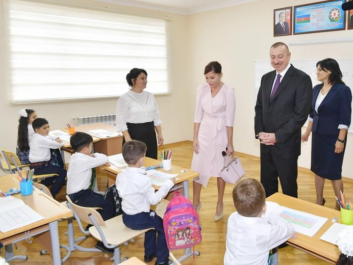 Президент Ильхам Алиев принял участие в открытии нового учебного комплекса - ФОТО