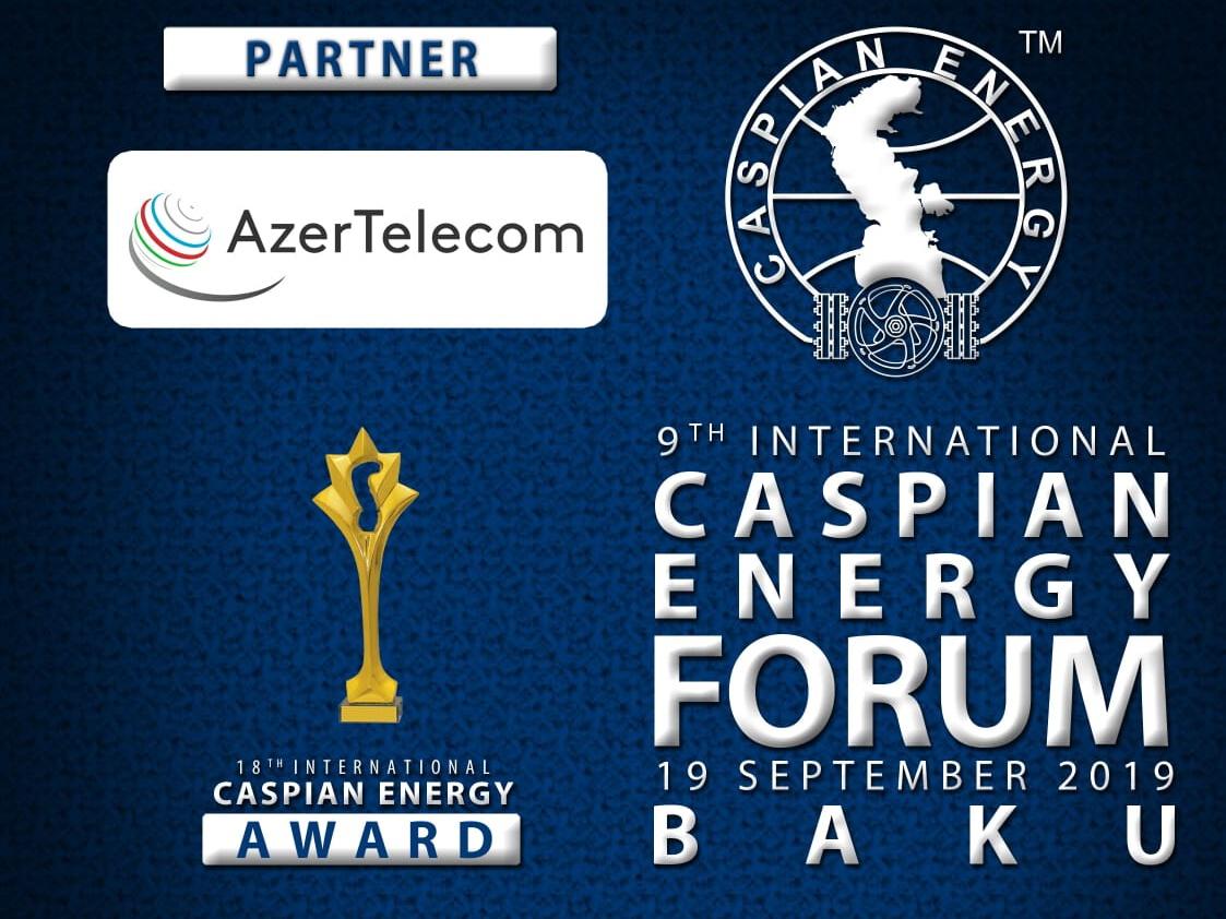 AzerTelecom поддерживает Caspian Energy Forum Baku 2019 в качестве партнера