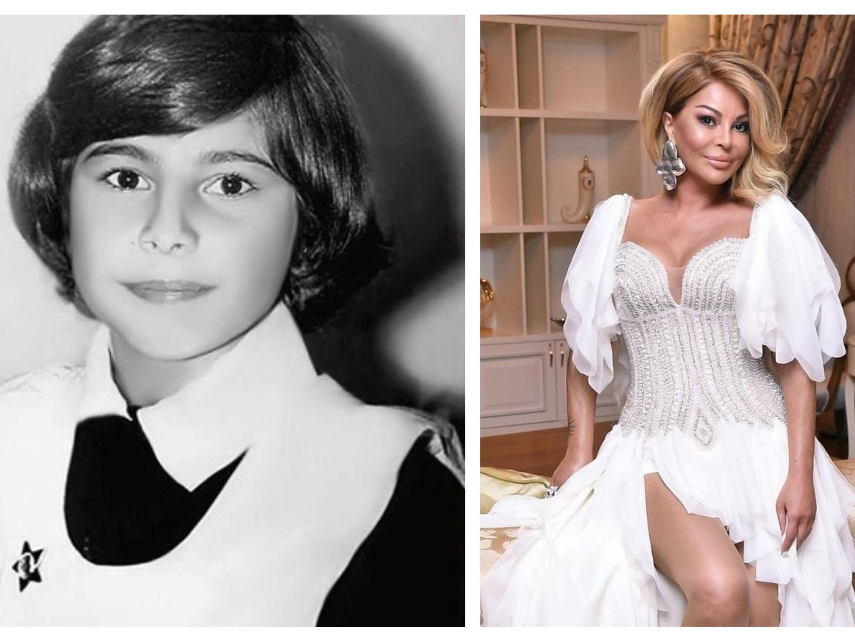 Азербайджанские звезды в школьные годы и сейчас – ФОТО