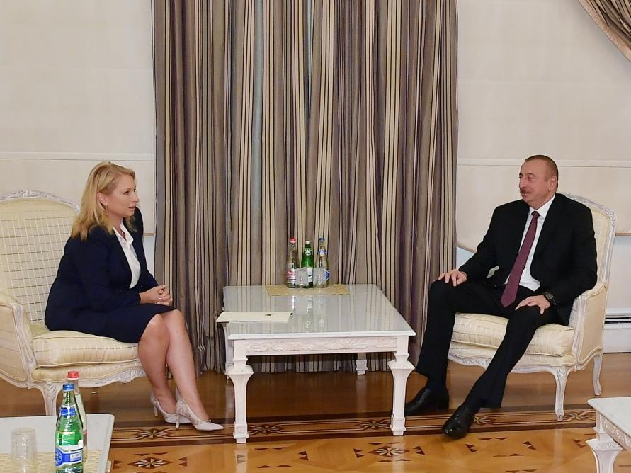 Президент Ильхам Алиев принял министра экономики и устойчивого развития Грузии - ФОТО
