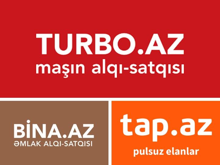 Казахстанский холдинг приобрел ресурсы Turbo.az, Tap.az и Bina.az