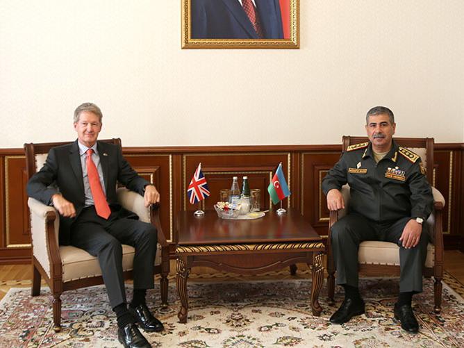 Закир Гасанов  на встрече с британским дипломатом: «Мирные переговоры намеренно затягиваются официальным Ереваном»