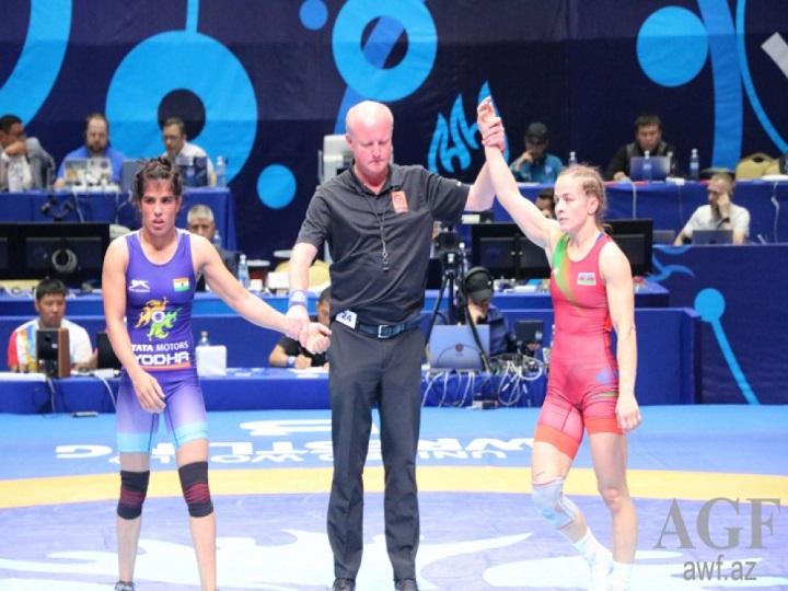 """Mariya Stadnik """"Tokio 2020"""" Olimpiya Oyunlarına lisenziya qazanıb"""
