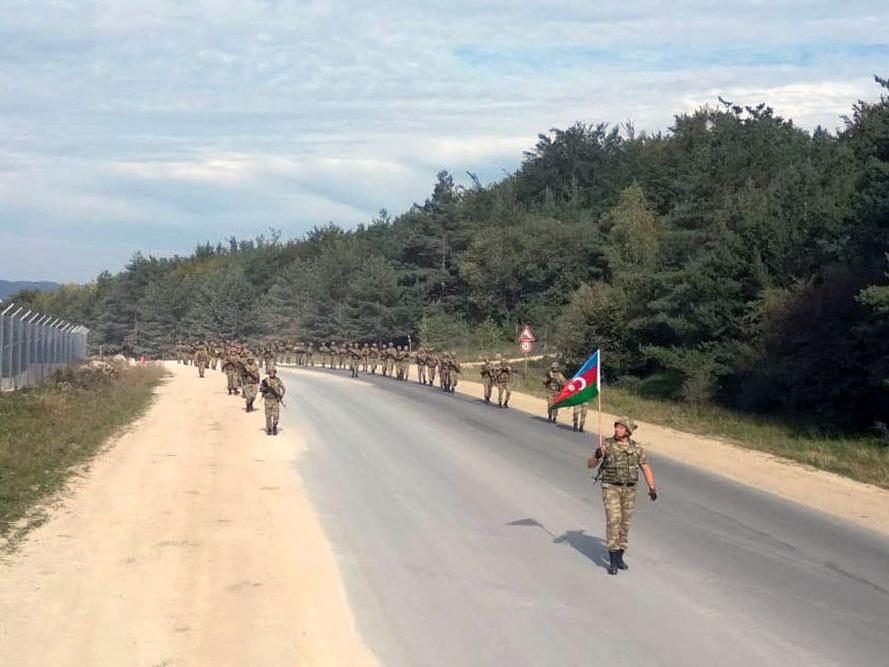 Азербайджанские военнослужащие находятся на учениях в Германии – ФОТО