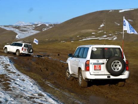 ОБСЕ провела мониторинг на линии соприкосновения войск в Агдамском направлении