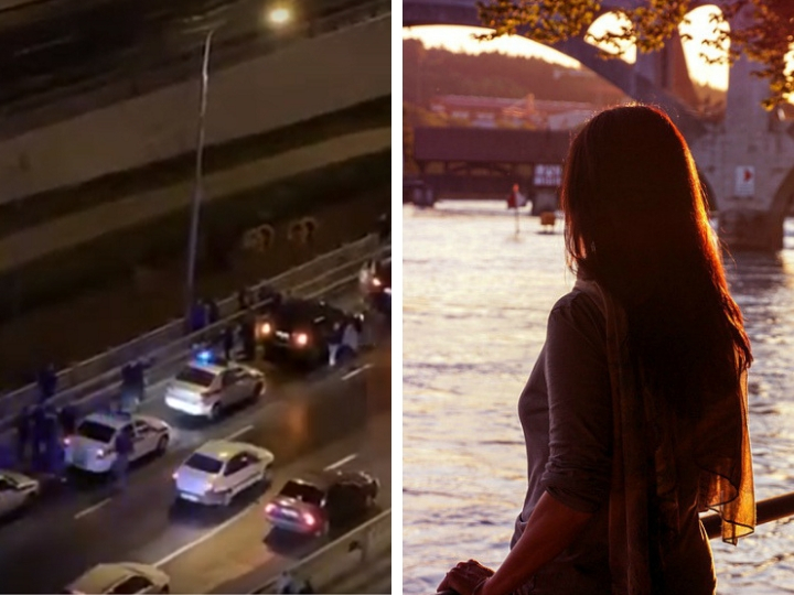 «Дети хотели меня убить»: мать бросила с моста в реку двух маленьких дочерей в Москве – ВИДЕО