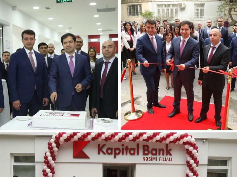 Kapital Bank представил обновленный филиал «Насими»