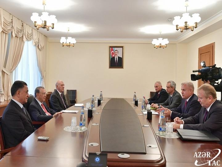 Ramiz Mehdiyev Belarus Təhlükəsizlik Şurasının dövlət katibi ilə görüşüb - YENİLƏNİB