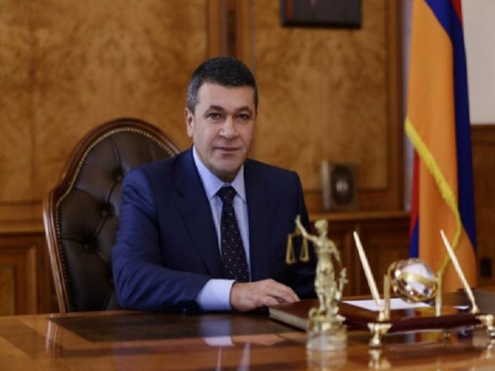 Ermənistan polisinin sabiq rəisi barəsində cinayət işi başlanıb