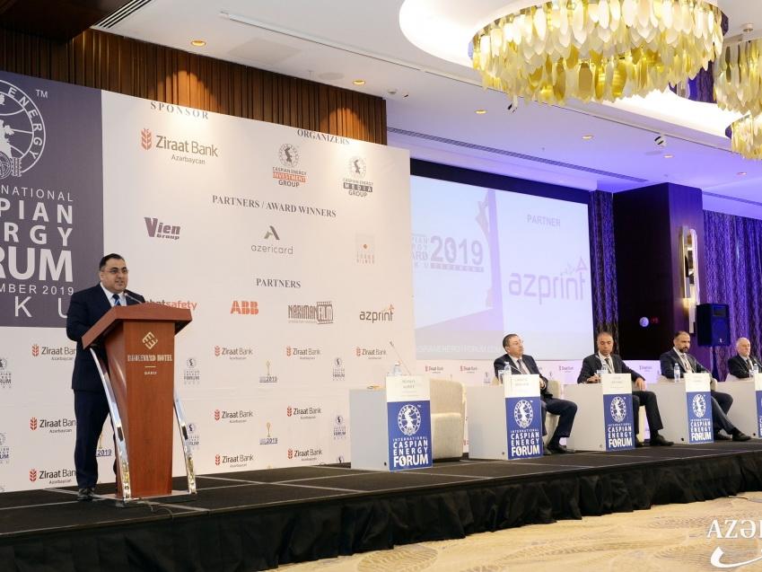 В Баку начал работу IX Международный Caspian Energy Forum – 2019 - ФОТО