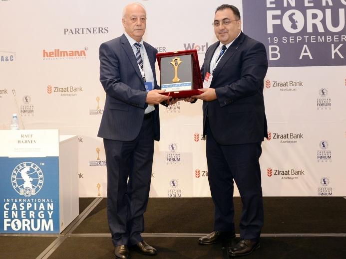 АЗЕРТАДЖ удостоен премии новостного агентства года по странам Каспийско-черноморского региона