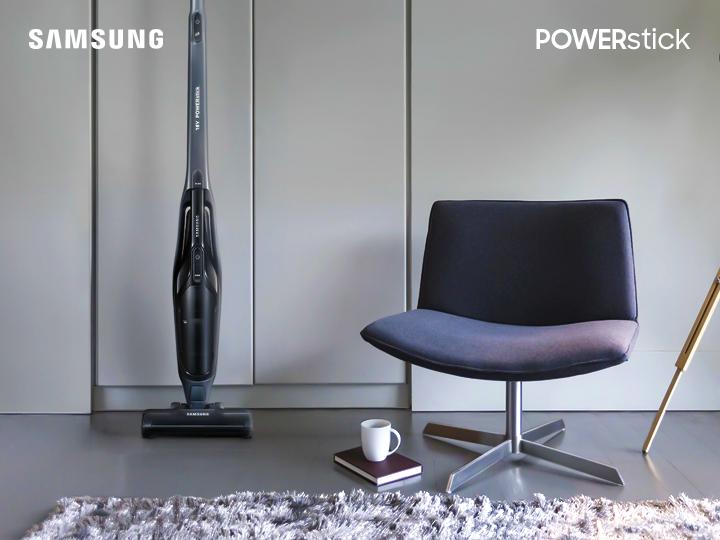 Samsung PowerStick быстро наведет чистоту даже в самых труднодоступных местах