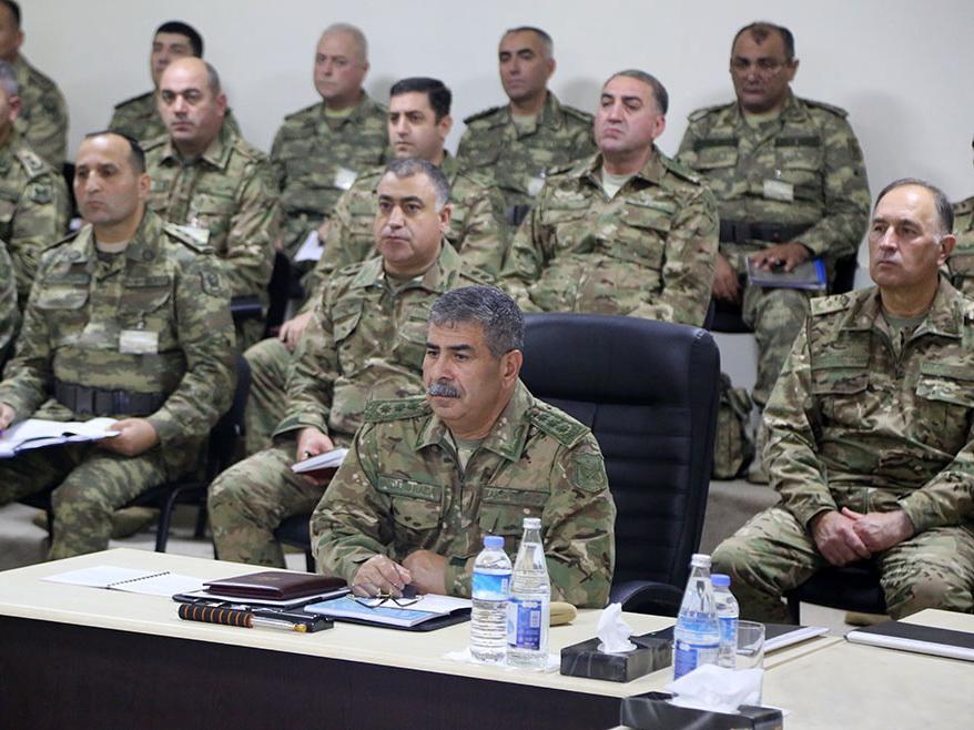 В ходе учений было отработано взаимодействие войск на макете местности - ВИДЕО