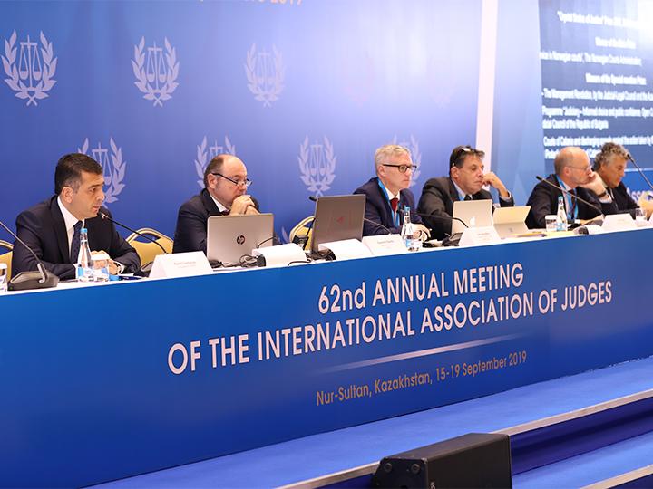 В Казахстане прошли заседания двух влиятельных международных судебных ассоциаций - ФОТО