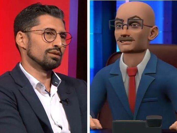 Дадаш Дадашлинский vs Рахман Гаджиев: неудобные вопросы в необычной программе на ITV - ВИДЕО