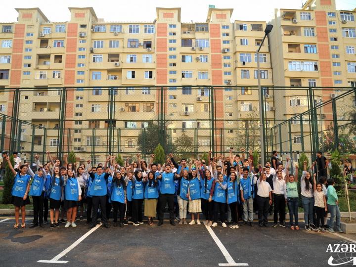 В рамках проекта «Наш двор» благоустроен и передан в пользование жителей очередной двор - ФОТО