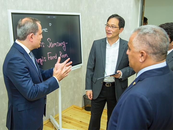 Стартовал новый проект Samsung при поддержке Фонда Nargis